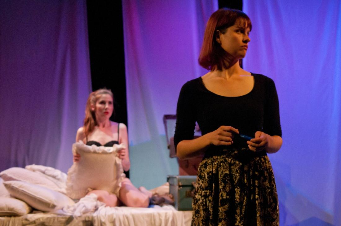 Flirt Fiction production still, courtesy Angela H King