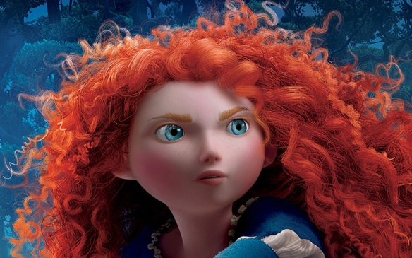 Snapshot from a poster of Disney Pixar's 'Brave'