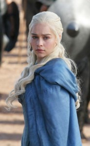 "Daenerys Targaryen, ""Game of Thrones""."