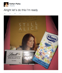 Still Alice Twitter screen shot